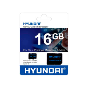 Memoria MICRO SD HYUNDAI 16GB