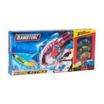 Lanzador Elástico de autos – TEAMSTERZ – SHARK ATTACK – 3 Autos