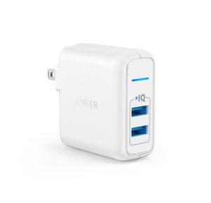 Cargador de Pared ANKER ELITE 2 24W 2 Puertos USB