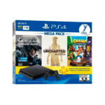 Consola PS4 1TB Mega Pack Bundle 3 Juegos Incluidos Call Of Duty Uncharted Crash