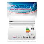 Aire Acondicionado Inverter AIRWAY 24000 BTU Categoría A – Wifi