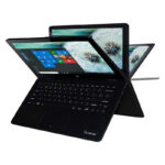Notebook Tablet IVIEW 2 EN 1 – MAXIMUS II – 11.6″ LED/2GB/32GB/Giro 360° – Azul/Negro