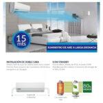 Aire Acondicionado Inverter PANAVOX Airway 18000 BTU Categoría A – Wifi