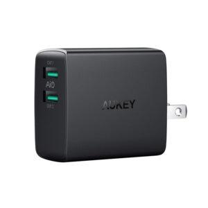 Cargador USB De Pared AUKEY – 2 Puertos – 4.8A