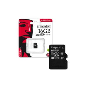 Memoria Microsdhc Canvas Select Kingston 16gb