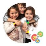 Reloj De Localización P/niños Myki Touch – Gms/gps