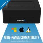 Unidad Base De Acoplamiento Y Copia De Disco Sabrent USB 3.0 a SATA