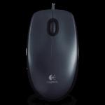 * Ahora * Mouse Logitech M90 Optico Cableado USB